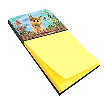 Carolines Treasures  CK1273SN German Shepherd #2 Spring Sticky Note Holder
