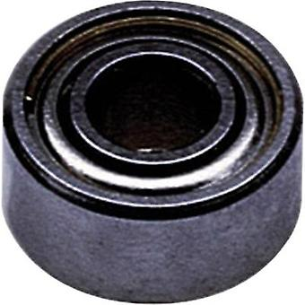 Reely Radial ball bearing Stainless steel Inside diameter: 12 mm Outside diameter: 21 mm Rotational speed (max.): 33000