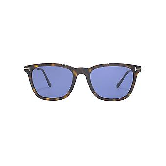 Tom Ford Arnaud 02 Sunglasses In Dark Havana Blue