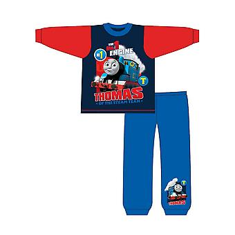 Thomas The Tank Engine Childrens/Toddlers Boys No 1 Engine Snuggle Fit Long Pyjamas