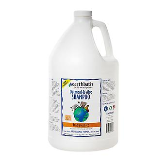 Earthbath avena y Aloe champú sin perfume 3.8L
