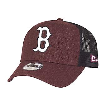 New Era Trucker Kinder Cap - HEATHER Boston Sox maroon
