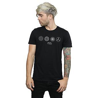 Fantastic Beasts Men's Circular Icons T-Shirt
