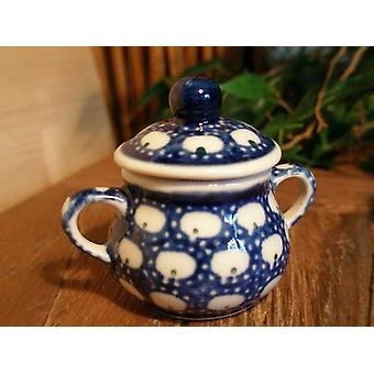Sugar Bowl, miniature, traditions 4, Bunzlauer pottery - BSN 0611