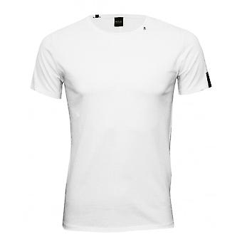 Replay Pure Cotton Crew-Neck T-Shirt, White