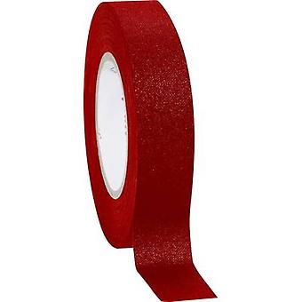 Coroplast 39756 Cloth tape Red (L x W) 10 m x 19 mm 1 Rolls