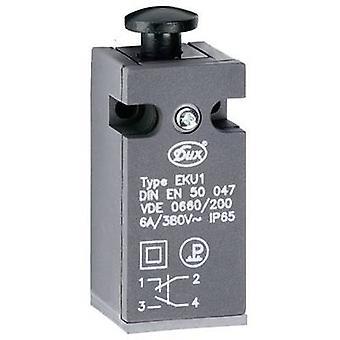 Limit switch 380 V AC 6 A Tappet momentary Schlegel EKU1-KD IP65 1 pc(s)