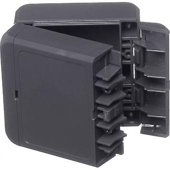 Bopla Bocube B 080805 ABS-7024 Wall-mount enclosure, Build-in casing 80 x 89 x 47 Acrylonitrile butadiene styrene Graphite grey (RAL 7024) 1 pc(s)