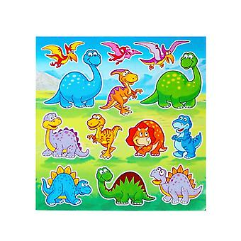 12 Dinosaur Sticker Sheets for Kids Party Bags | Kids Dinosaur Crafts