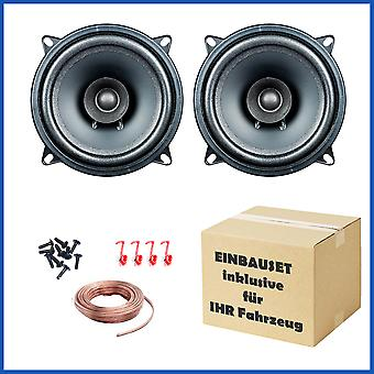 1 pair PG audio EVO I 13.2, 13 cm dual cone speakers suitable for Chevrolet, Daihatsu, Honda, Mazda and Nissan