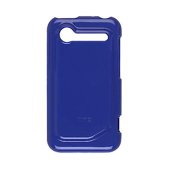 Caso de piel TPU HTC para HTC DROID Incredible 2 - azul cobalto