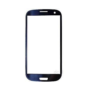 もの認定® サムスンギャラクシー S3 i9300 + 品質フロント ガラス - 青
