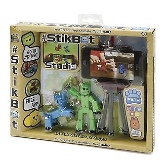 デラックス ペットの w/Stikbot スタジオ