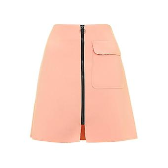 Get The Look Patch Pocket A-Line Skirt