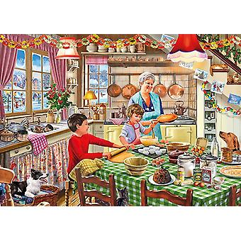 Gibsons Christmas Treats Jigsaw Puzzle (1000 Pieces)