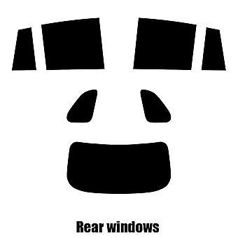 Pre gesneden venster tint - Renault Koleos - 2011 tot en met 2016 - achterzijde windows