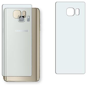 Samsung Galaxy 5 Note back screen protector - Golebo crystal-clear protector (miniature sheet)
