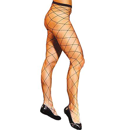 Waooh - Sexy - Fishnet tights Chunky