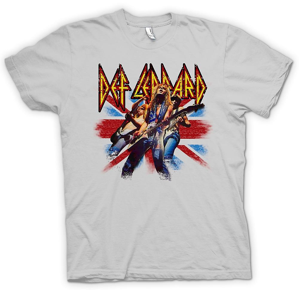 Herren T-Shirt - Def Leppard - British Rock