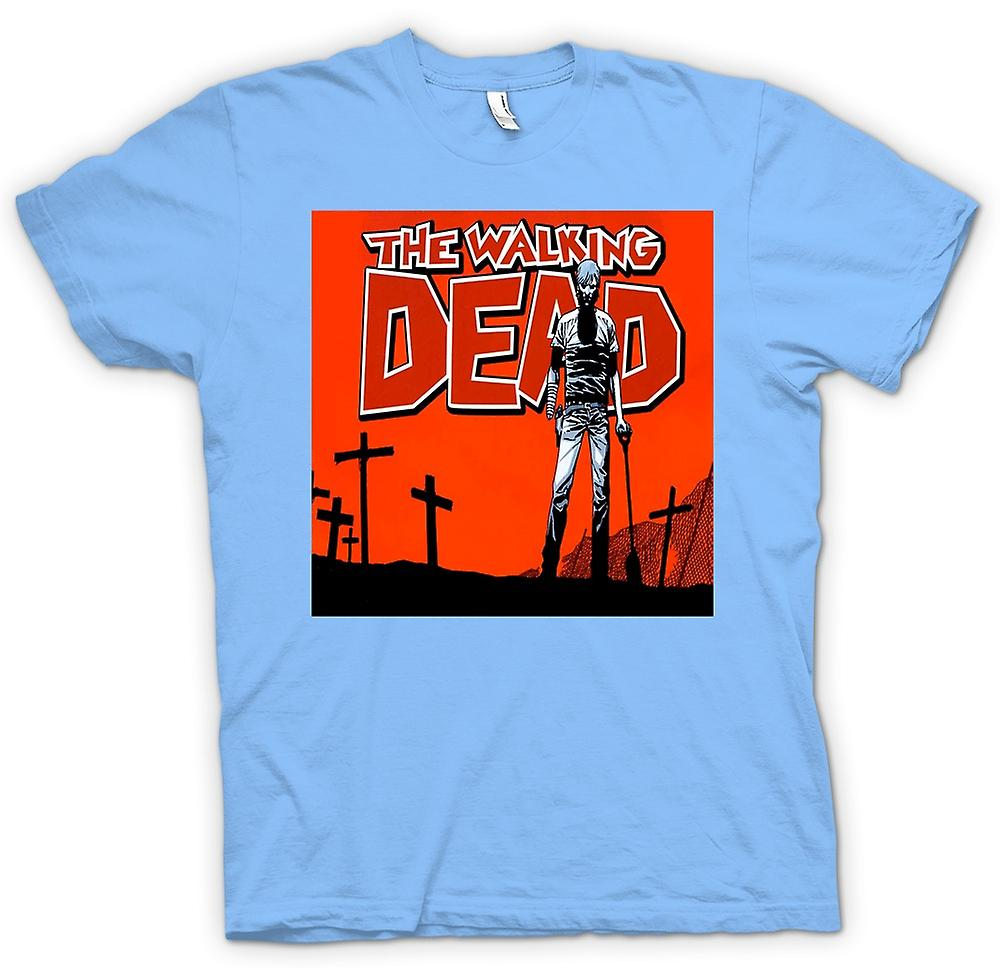 Mens T-shirt - Zombie The Walking Dead - Horror