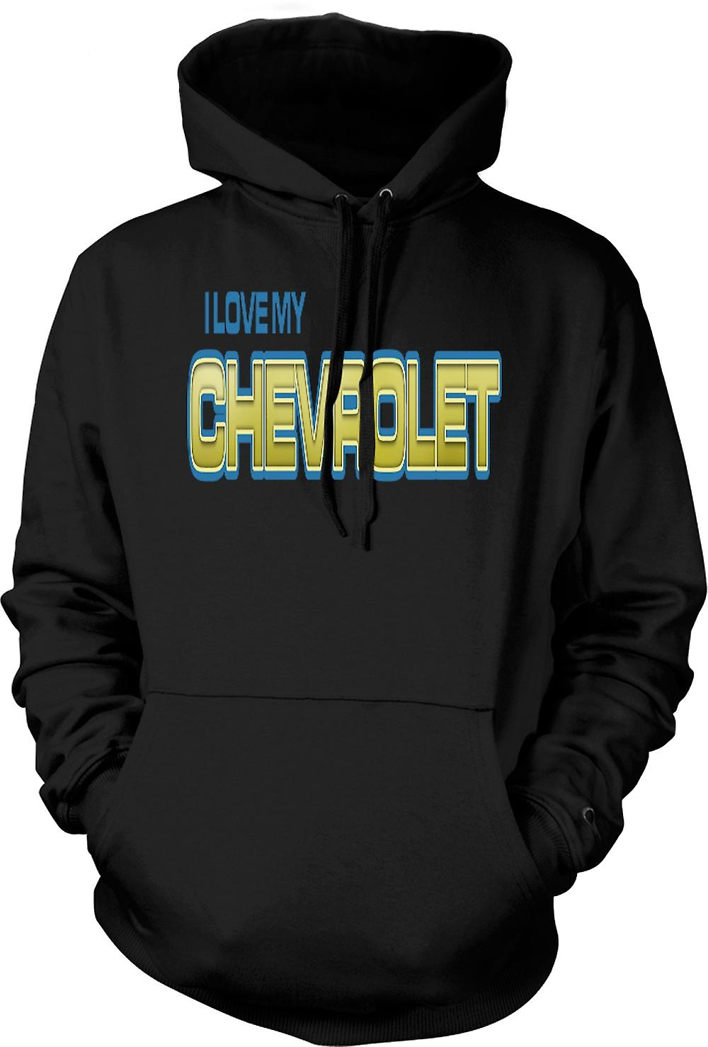 Kids Hoodie - I Love My Chevrolet - Car Enthusiast
