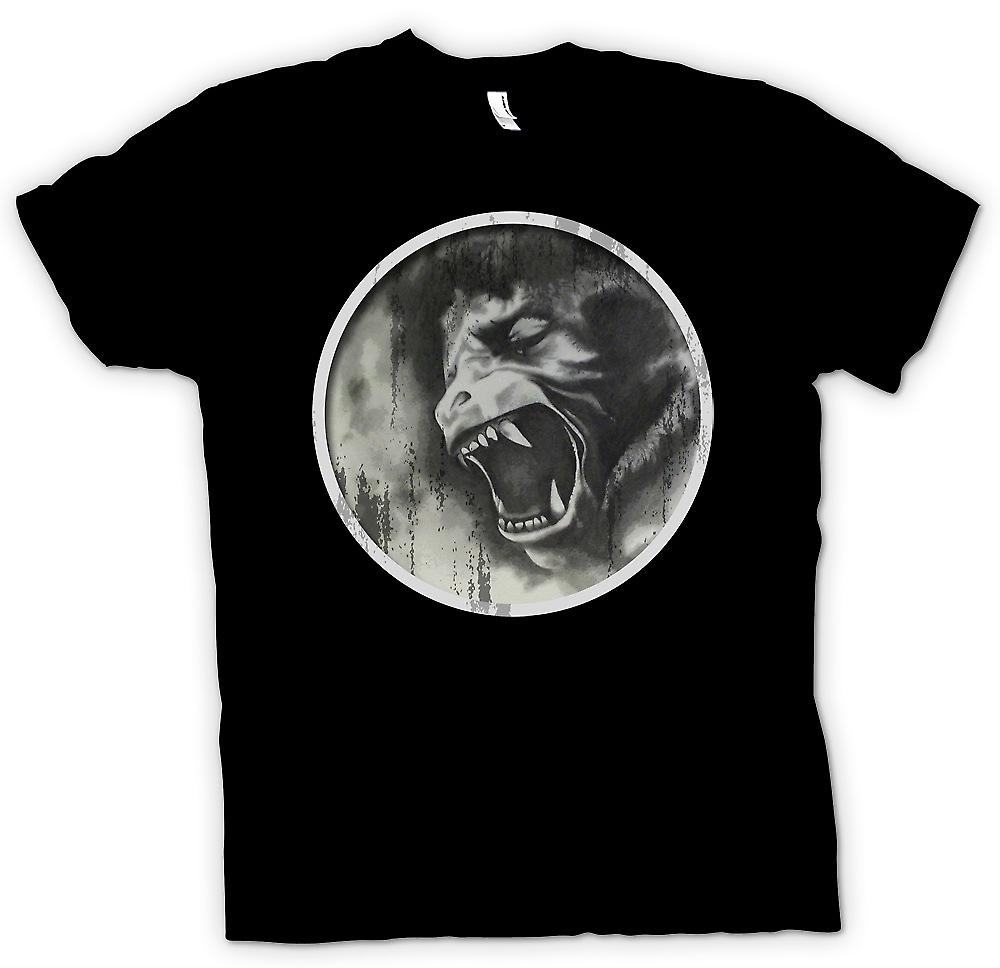 Womens T-shirt - American Werewolf In London BW