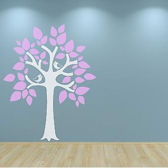 Nursery Tree Wall Sticker Decal Birds