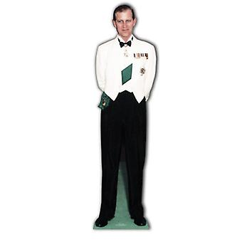Prince Philip (Duke Of Endinburgh) - Lifesize Cardboard Cutout / Standee (Diamond Jubilee 2012)