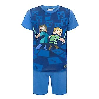 Minecraft Surrounded Boy's Pyjamas