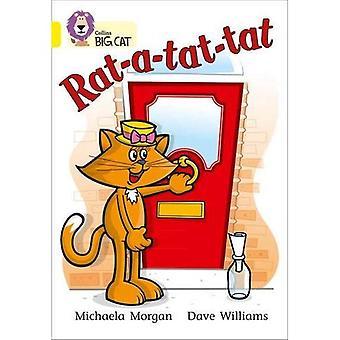 Rat-a-tat-tat: Bande 03/jaune (Collins Big Cat)