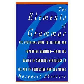Elements of Grammar