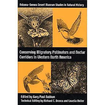 Bevara flyttande pollinatörer och nektar korridorer i västra Nordamerika