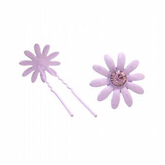 Cheap Hair Jewelry Amethyst Crystal Hair Pin Purple Hair Accessories