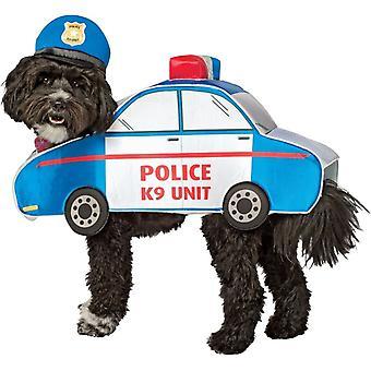 Смешная собака костюм «Полиция» для маленьких и средних собак