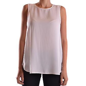 Michael Kors White Silk Top