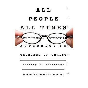 ALL PEOPLE ALL TIMES by Stevenson & Jeffery S.