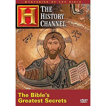 Bibles Greatest Secrets [DVD] USA import