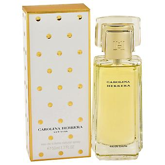 CAROLINA HERRERA door Carolina Herrera Eau De Parfum Spray 1.7 oz/50 ml (vrouwen)