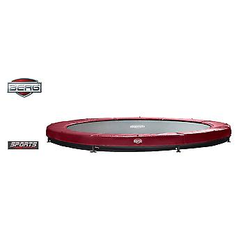 BERG InGround Elite 330 11ft Trampoline Sports Series Red