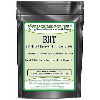 BHT - Butylated Hydroxy T. Crystalline Granular Powder - US Food Grade Anti-Oxidant