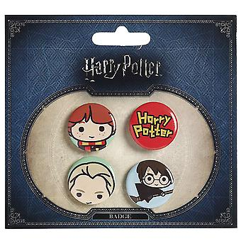 Harry Potter Chibi Button Badges (Style 3)