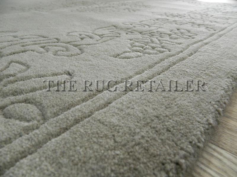 -Einfache Aubusson - Teppiche Beige