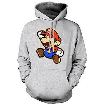 Mens Hoodie - Mario - Gamer