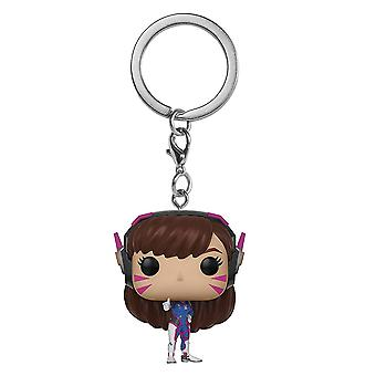 Overwatch D.Va Pocket Pop! Keychain
