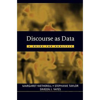 Discourse as Data A Guide for Analysis by Wetherell & Margaret