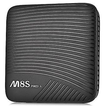 Mecool m8s pro l, tv box - 3gb ram, 16gb rom, octa core, amlogic s912, android 7.1, bluetooth voice version - black, uk plug