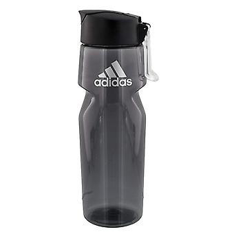 adidas All Around 750ML Plastic Water Bottle (28oz),, Onix/Silver, Size One Size