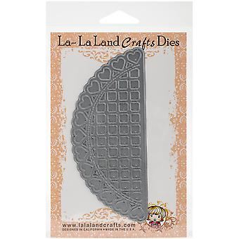 La-La Land Dies -Open Hearts Doily Border LL8093