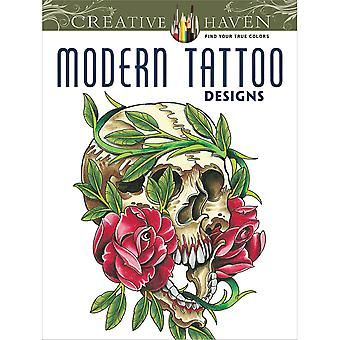 Dover Publications Creative Haven Modern Tattoo Designs Dov 49326