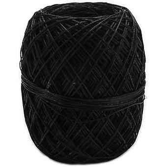 Hemp Cord 20# 400 Feet Pkg Black 855H 53